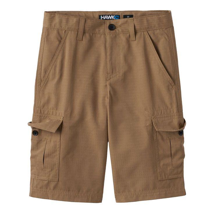 Boys 8-20 Tony Hawk® Ripstop Cargo Shorts, Size: 12, Med Brown