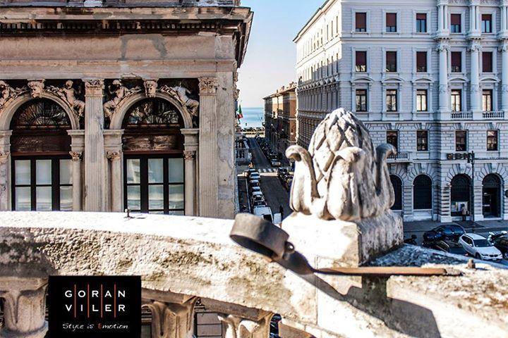 #Trieste: la terrazza di #GoranViler, #hair #spa #BarberShopGoran