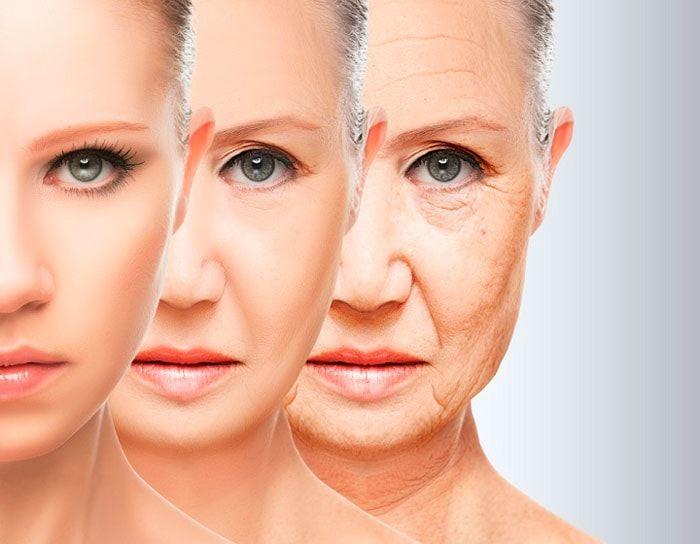 Сухая кожа и старение