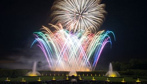 Spectacular Fireworks & Fountains shows at Longwood Gardens on select evenings through September 29.  (Photo: Longwood Gardens)