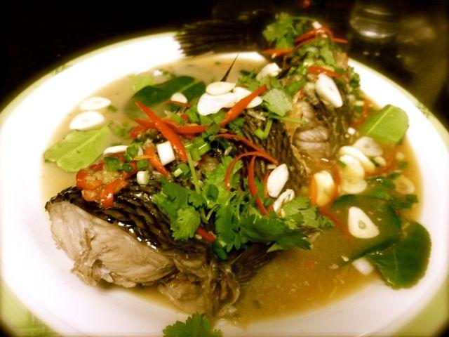 Steamed Sheng Yu in Lime Sauce #shengyu #recipe
