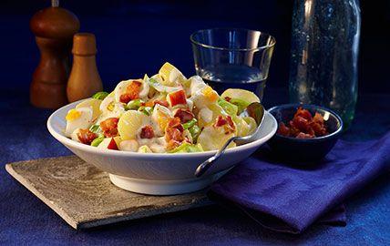Rezept knackiger Kartoffelsalat mit THOMY Delikatess Mayonnaise