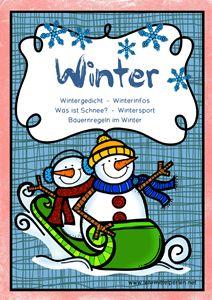 Ampelhefte zu den Jahreszeiten: Winter