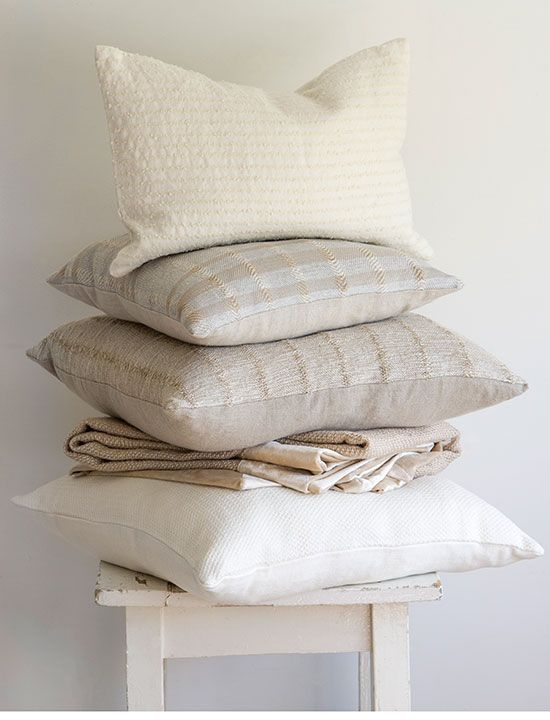 pale linens and cottons - Homes and Gardens - amara-jude-cassidy