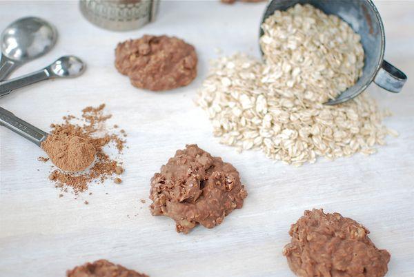Nutella No-Bake Fudge Cookies in 10 Minutes