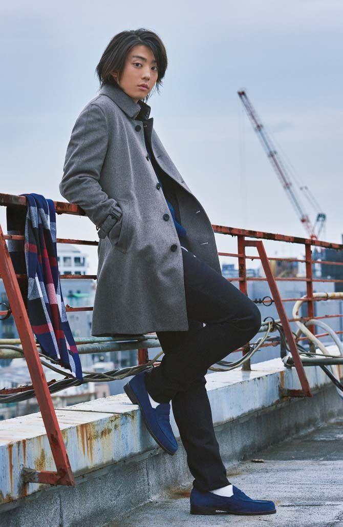 今日から俺は で活躍中の伊藤健太郎が着こなす 旬のアウター4選 俳優 健太郎 メンズファッション 伊藤