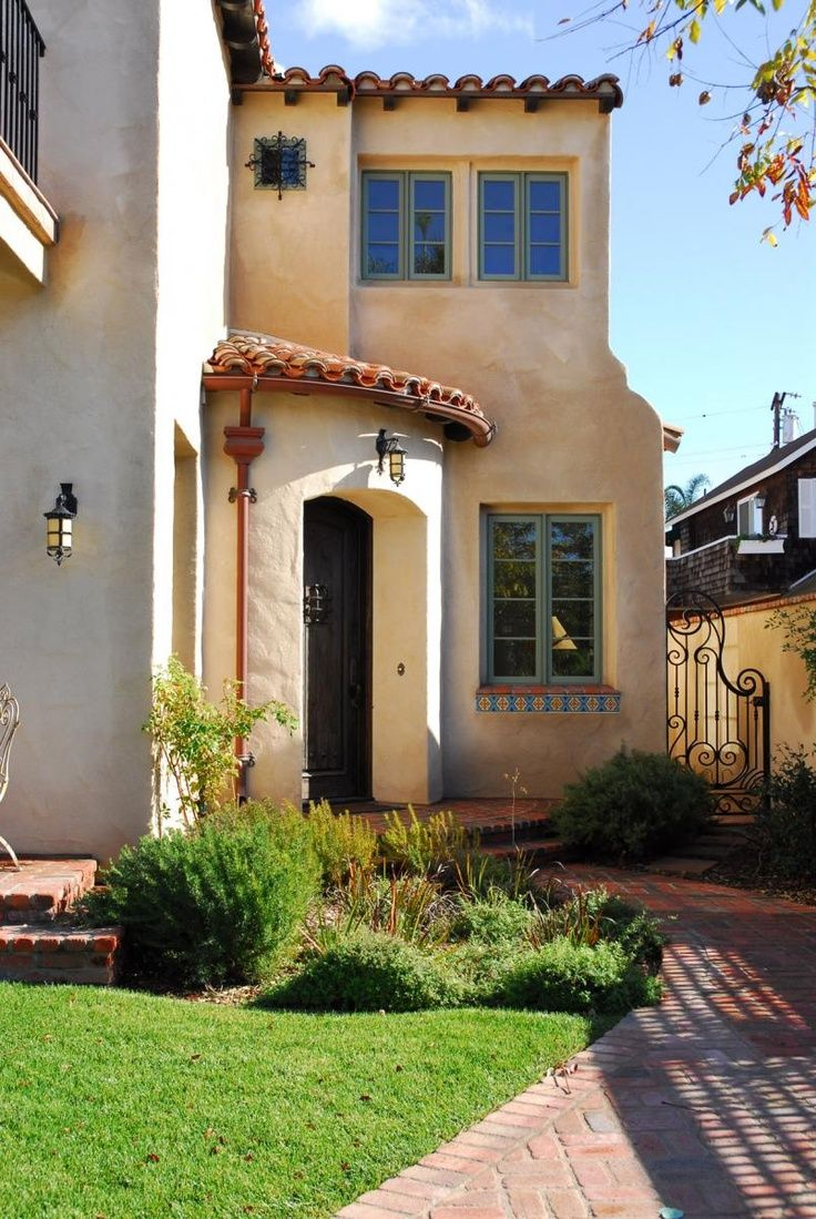 12 Best Paint Exterior Images On Pinterest Spanish Revival Exterior And Spanish Colonial
