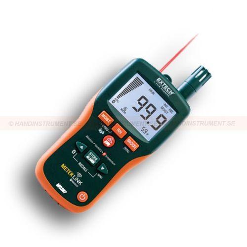 http://handinstrument.se/fuktmatare-r252/oforstorande-fuktmatare-minne-och-flir-meterlink-53-MO297-r264  Oförstörande fuktmätare, minne och Flir MeterLink  Snabbindikation av fukthalt i material med oförstörande teknik utan att skada ytan  Extern stickgivare 53-MO290-P ingår för avläsning av fuktkvot (0.9m kabellängd)  Du kan lagra / hämta upp till 20 fuktavläsningar  Fungerar på flera träslag och andra byggmaterial  Lätt att läsa av, stor dubbel display med bakgrundsbelysning...