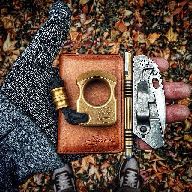 A good looking everyday carry. | Saddleback Leather Co. | Business/Credit Card Wallet | 100 Year Warranty | $21