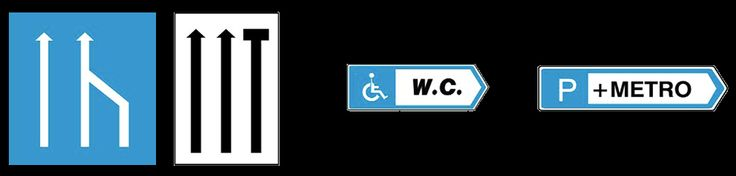 σηματα κοκ - Όλα τα σήματα του ΚΟΚ - πληροφοριακές πινακίδες 17