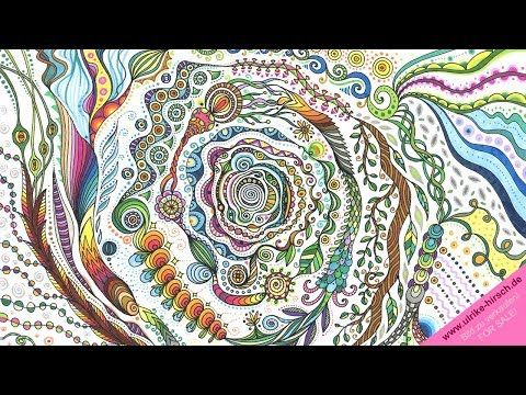 Drawing A Magic Spiral Ulrike Hirsch Youtube Ulrike Hirsch