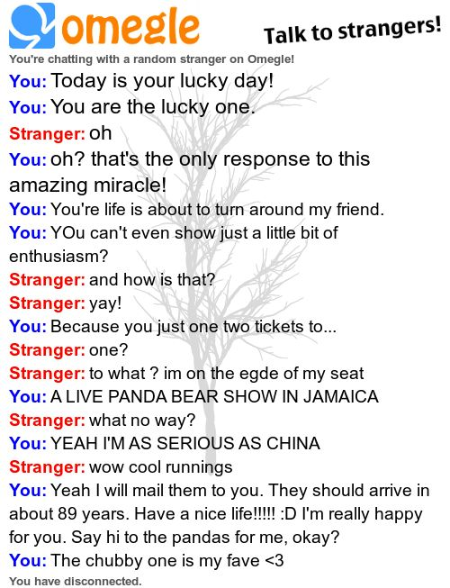 omegle chats