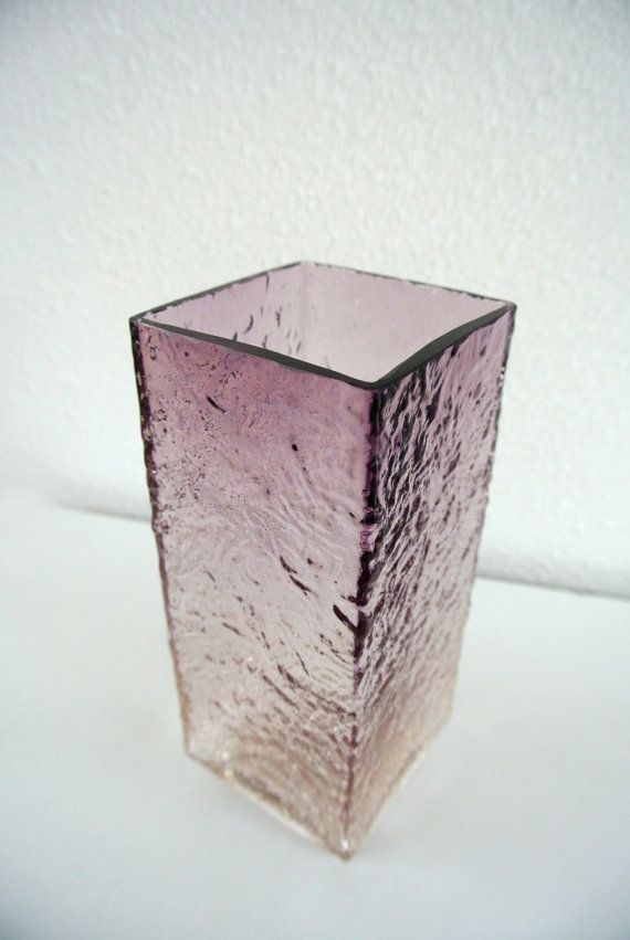 Vintage Oy Kumela glass vase Riihimäen Lasi Oy / by Objects5060