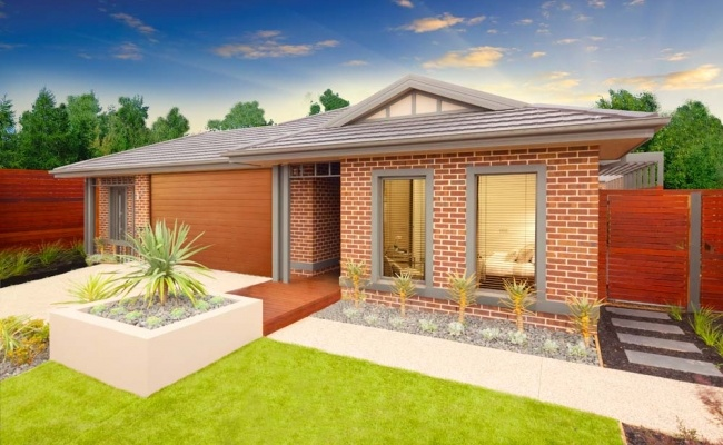 Simonds Home Designs: Sierra Mossman Facade. Visit www.localbuilders.com.au/builders_victoria.htm to find your ideal home design in Victoria