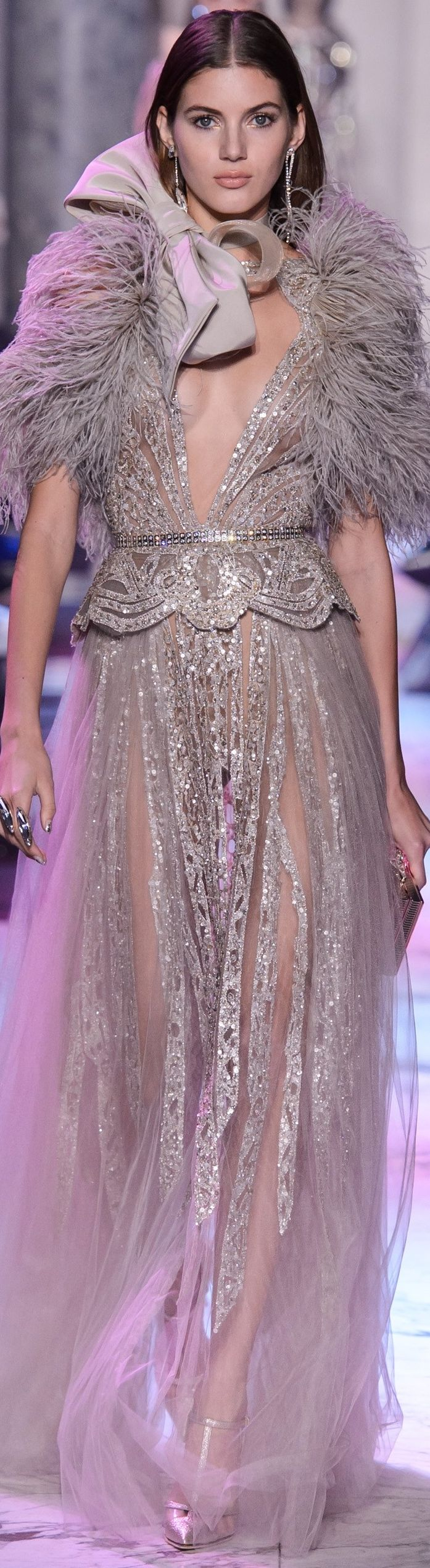Elie Saab Spring 2018 Couture♪ƸӜƷ❣  #SweEts  ♛♪  #Sg33¡¡¡  ✿ ❀¸¸¸.•*´¯`