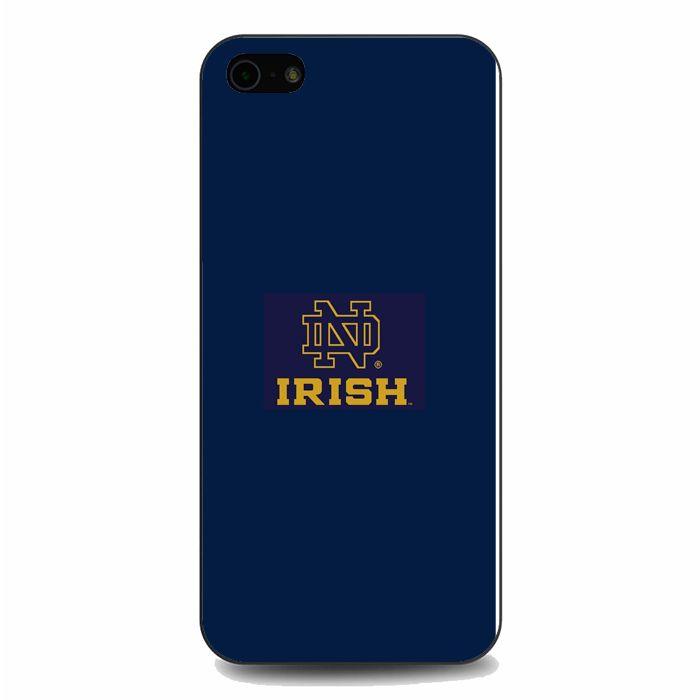 new concept 6fbf5 6dac6 Notre Dame Fighting Irish Minimalist iPhone 5 / iPhone 5S / iPhone ...