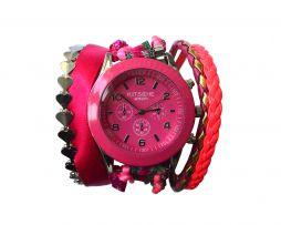 #pink #horloge #armband  €34.95 bij sevenbien.nl