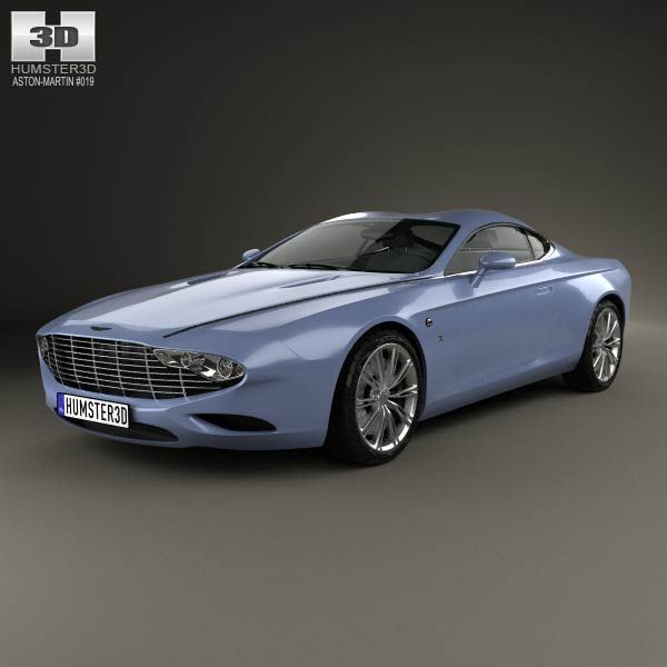 Aston Martin Coupe Zagato Centennial 2014 Model In Sport Cars