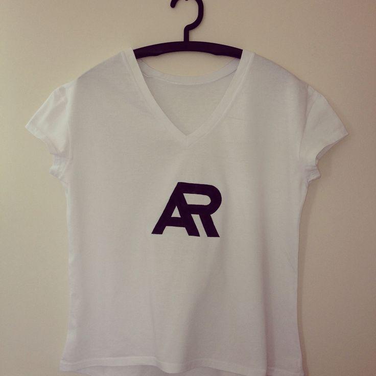 """""""AR"""" koszulka ręcznie malowana"""