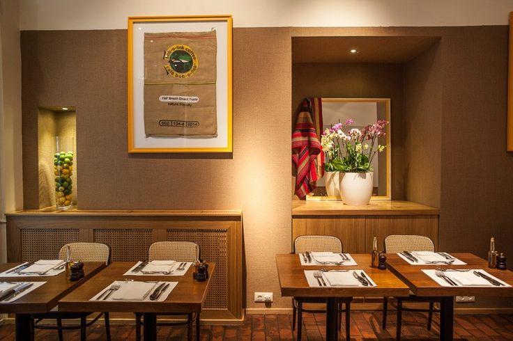 Basic Collection, Casabrasil Budapest #restaurant #furniture #design #interior #contract #casabrasil #budapest #chair #dining #table #cutlery #dining photo: Zsolt Batár