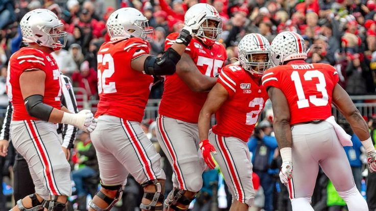 Ohio state leaps lsu for top spot in cfp rankings clemson