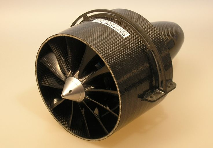 Building A Ducted Fan : Edf ds hst mm electrec ducted fan unit aircycle