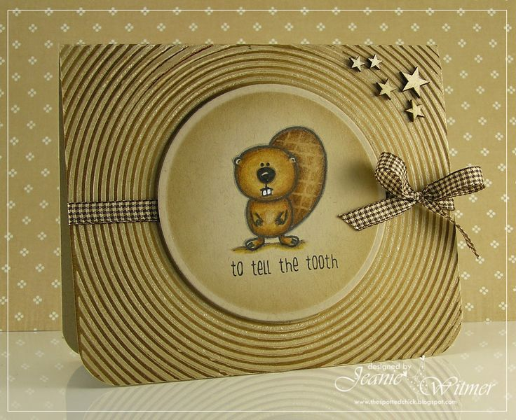The Spotted Chick: To tell the tooth!!, Create A Smile, Friends in the Woods, Handmade Card