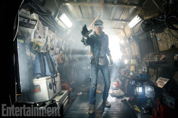 The First Look at the #ReadyPlayerOne Movie Is a Treasure Trove of Easter Eggs