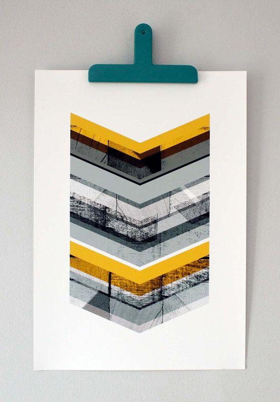 Minimal Graphic Design Print by Mrs Eliot Books.
