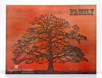 Stephanie Severin for Crafter's Companion- Majestic Oak (Sheena Douglass A Little Bit Sketchy collection)