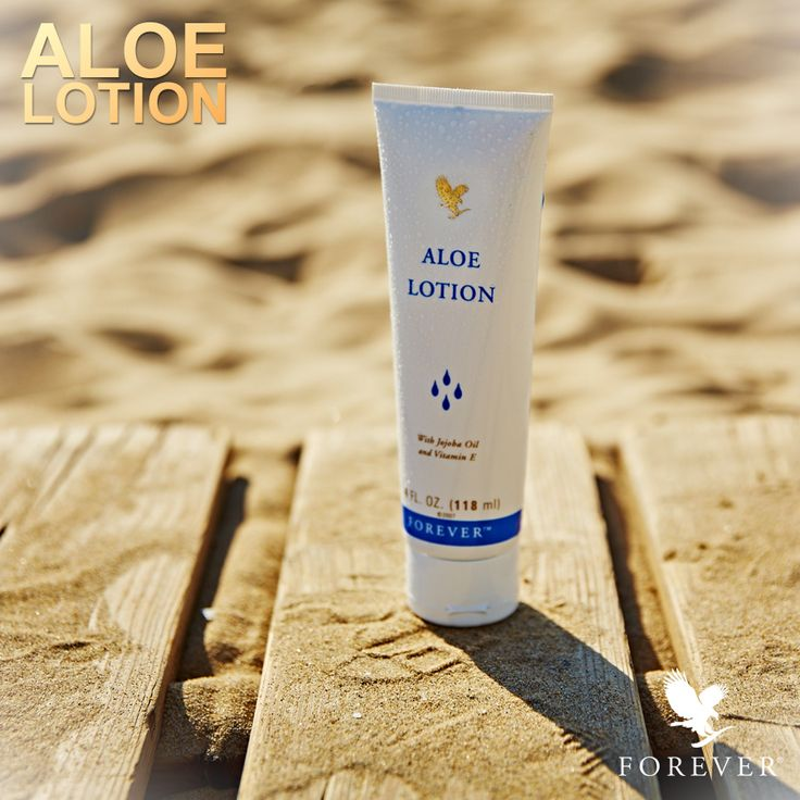 Aloe Lotion is an excellent hand- and bodylotion with aloe vera - perfect to use for dry skin and as aftersun lotion.