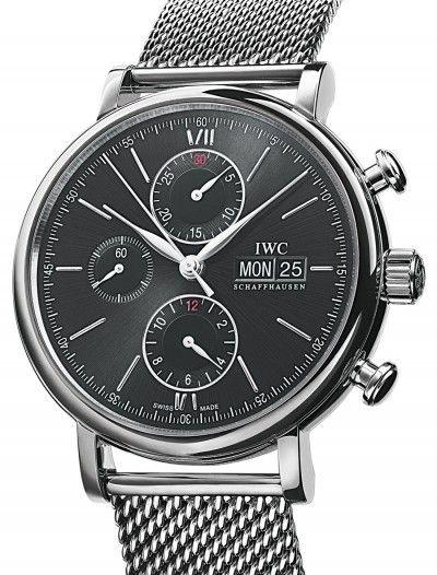 IWC   Portofino Chronograph   Steel   Watch database watchtime.com $7,361