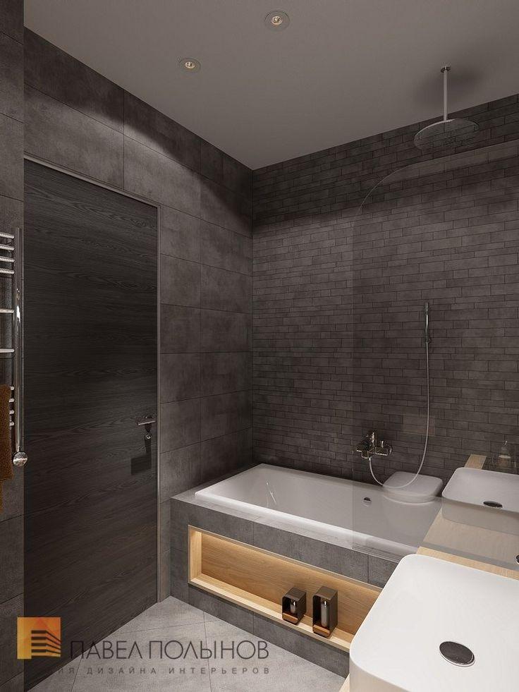 Фото интерьер ванной комнаты из проекта «Дизайн трехкомнатной квартиры 84 кв.м. в современном стиле, ЖК «Резиденс»»