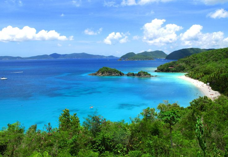 View of Trunk Bay, St John