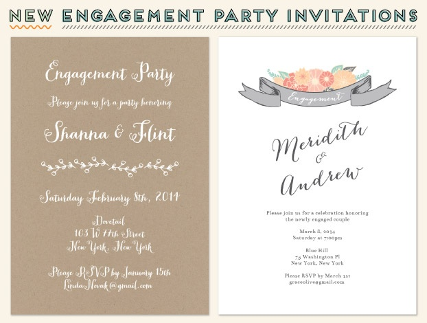 17 Best images about engagement party – Sample Engagement Party Invitations
