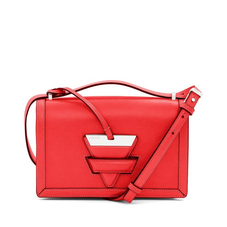 Loewe Bags - BARCELONA SHOULDER BAG Primary Red Discover Loewe Bags products, like our BARCELONA SHOULDER BAG primary red. Enter now.