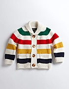 Unisex Baby Multistriped Sweater