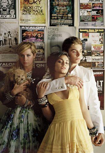 Zac, Vanessa & Ashley Elle Magazine Photoshoot - zac-efron-and-vanessa-hudgens Photo