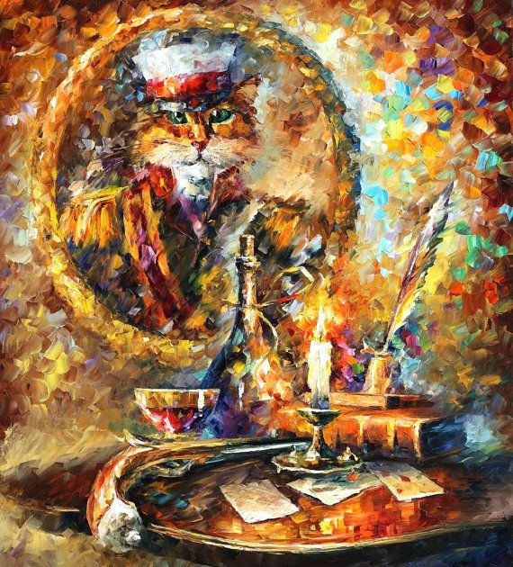 Old General — ORIGINAL Oil Painting On Canvas by AfremovArtGallery, $12500.00