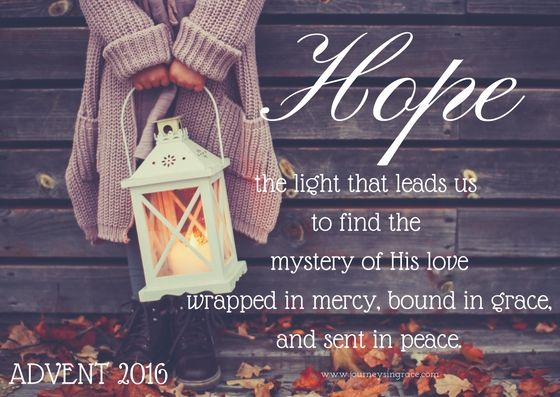 Recalling the Advent of Hope –