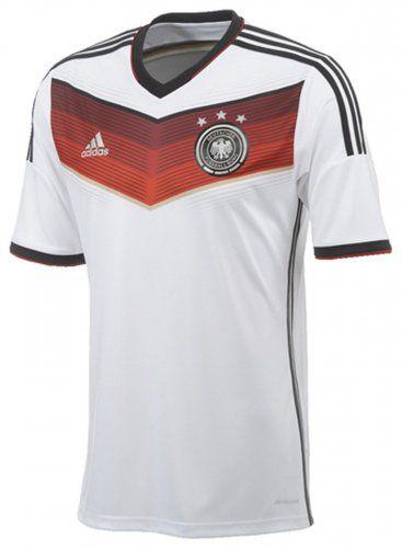 Sportolino Angebote adidas DFB Home Jersey Deutschland Trikot (Größe: L, white/black/victory red/matte silver): Category:…%#sport%