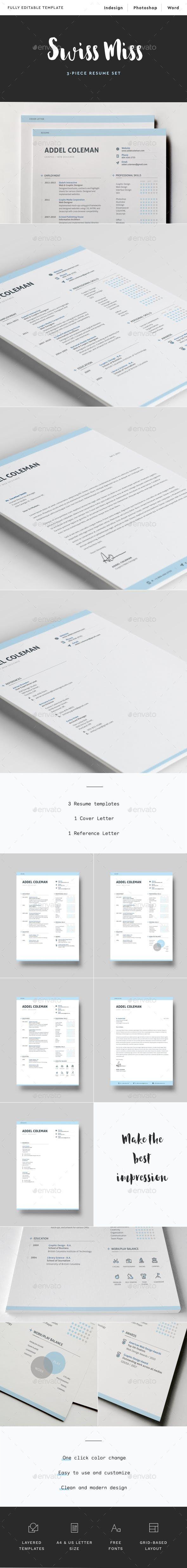 Resume Cv Swiss Miss Resume Cv Resume Design Template Brochure Print