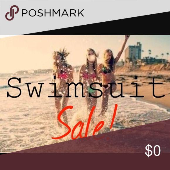 All bathing suits ON SALE!!! All swim on SALE!!! Swim