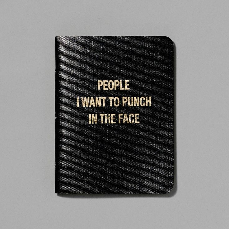 People I want to Punch in the Face Notebook at Whitney Shop - Family & friends, take note: They're making a list and checking it twice. Make sure you're not at the top of that list by giving them this hilarious pocket-sized notebook. $14 Whitney Shop