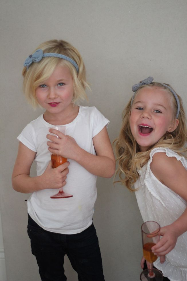 the girls & nyoki bows