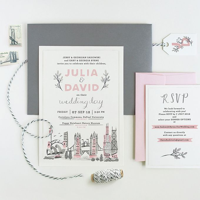 195 best wedding invitations images on Pinterest Invites - invitation template nature
