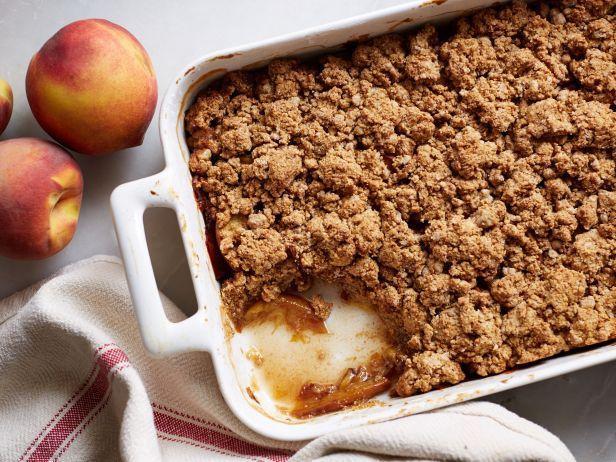 Vegan Peach Cobbler : Food Network | Healthy Eats – Food Network Healthy Living Blog