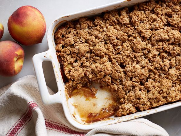Vegan Peach Cobbler : Food Network | Healthy Eats – Food Network Healthy Living Blog