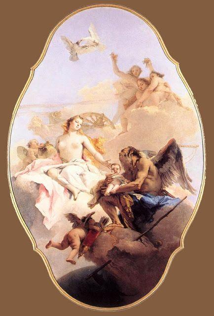 Αφροδίτη και ο χρόνος. (1754-58)