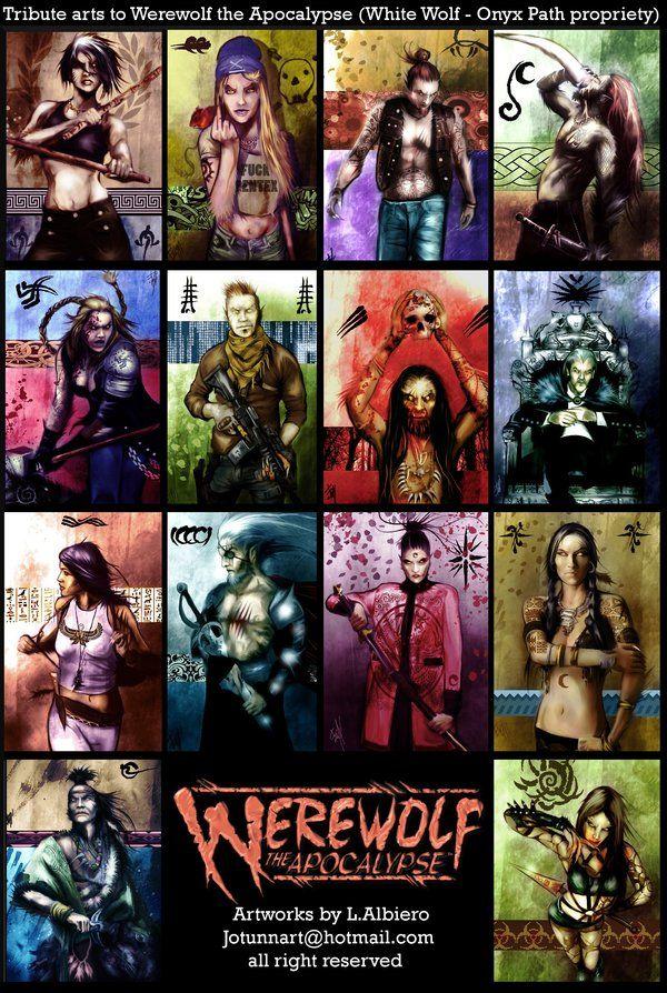 Tribes of the Apocalypse by Volkniv.deviantart.com on @DeviantArt
